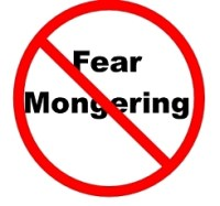 "Say ""no"" to fearmongering"