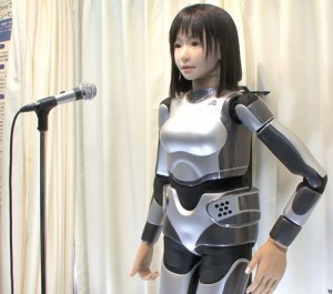 HRP-4c: singing robot