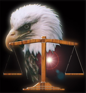Eagle Scales Of Justice