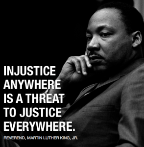 Martin Luther King: Injustice