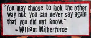 Wwilburforce on injustice