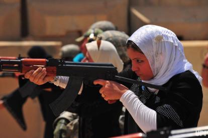 Women Iraq Police Recruits