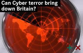 Cyberterrorism threatens Britain