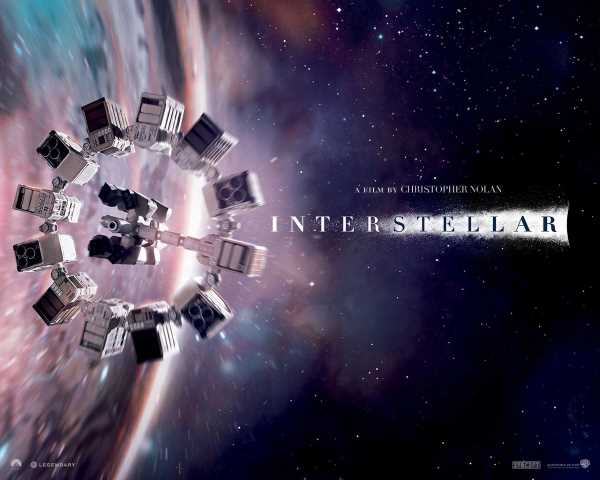 "The Endurnce spacecraft from ""Interstellar"""