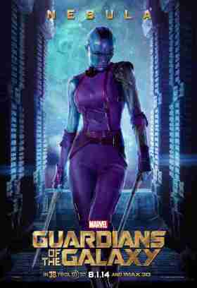 Karen Gilllan as Nebula the Assassin
