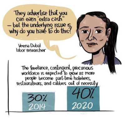 Veena Dubal about the sharing economy.