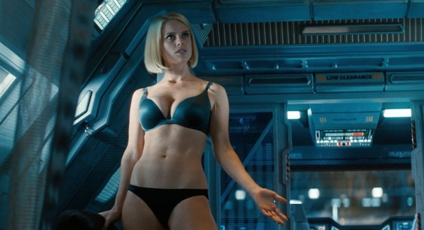 Alice Eve as Carol Marcus.