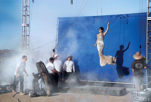 Vogue puts Sandra Bullock in the sky