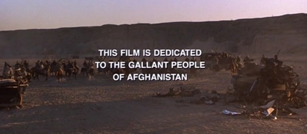 The new ending of Rambo III