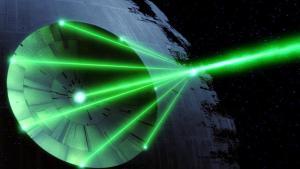 The Death Star beam