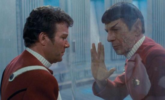 Spock and Kirk: Death Scene