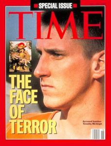 TIME cover: Timothy McVeigh, 1 May 1995
