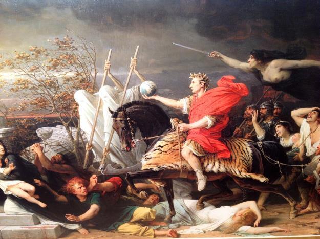 """""""Caesar"""" by Adolphe Yvon (1875)."""