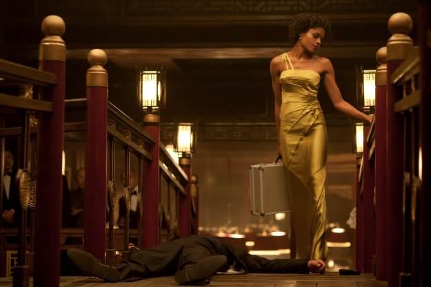 Naomie Harris as Eve in Skyfall.