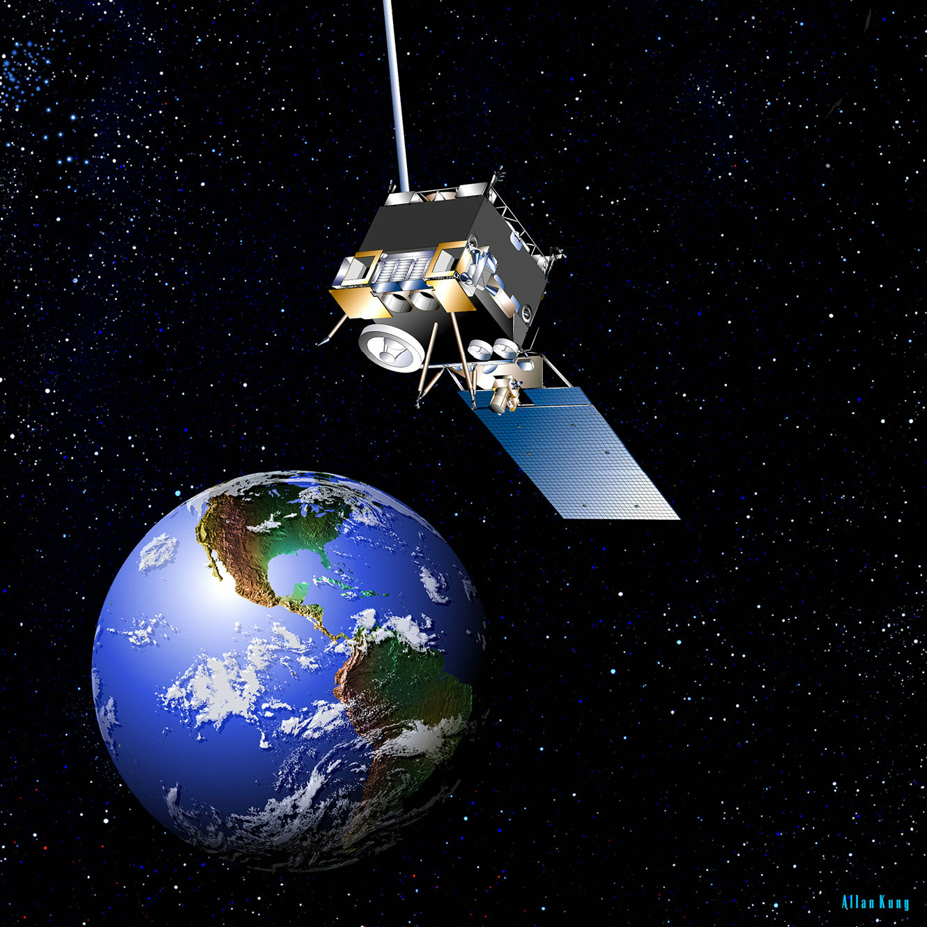 What Happened To NASAs Missing Weather Satellites Their Vital - Today satellite image of world