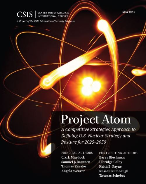 Project Atom - cover of CSIS report