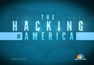 """Hacking of America"" on NBC News"