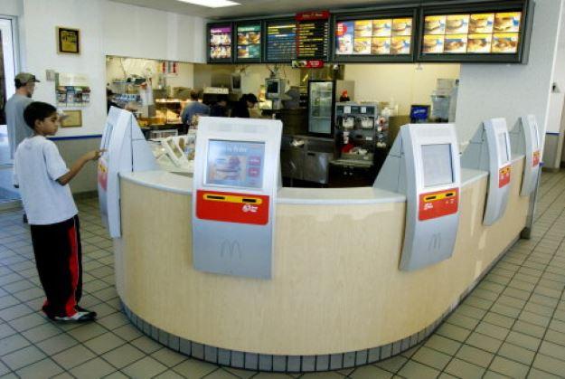 McDonald's Kiosk