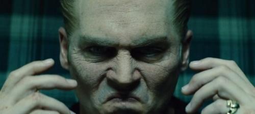 Johnny Depp in Black Mas