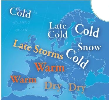 Forecast for Europe, November 2015 Browning World Climate Bulletin