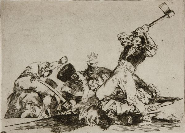 """The Disasters of War"" by Francisco Goya."