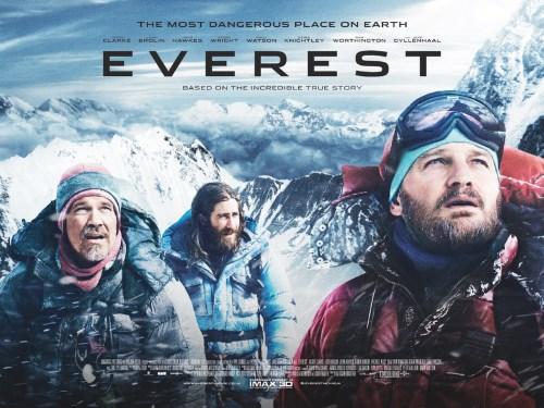 "Poster for ""Everest""."