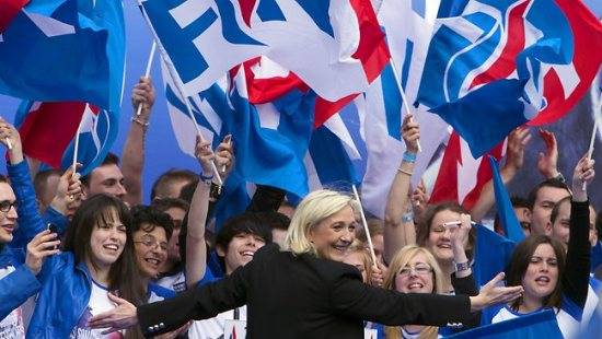 Marine Le Pen, President of the Front Nationale