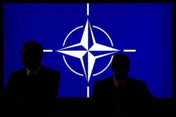 NATO - shadowy figures