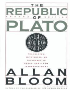The Republic by Allan Bloom