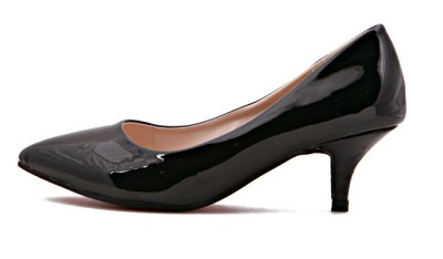 Woman's show with a two Inch heel