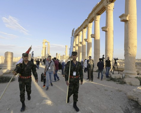 Syria Troops in Palmyra`