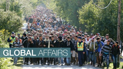Immigrants into Europe