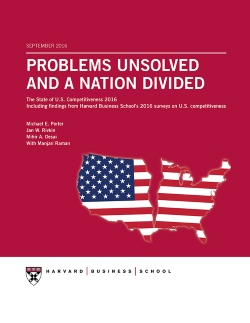 Problems Unsolved and a Nation Divided