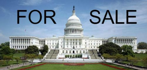 Congress for sale