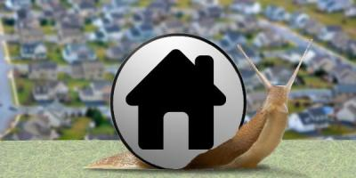 Slow growth of housing