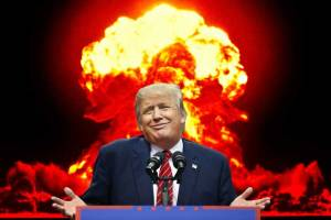 Donald Trump's nuclear threat