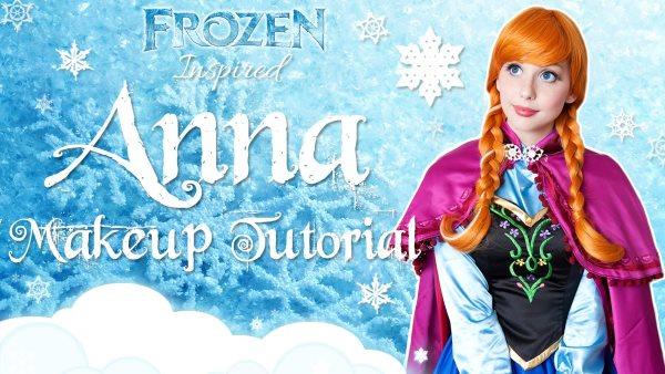 """Anna in """"Frozen"""""""