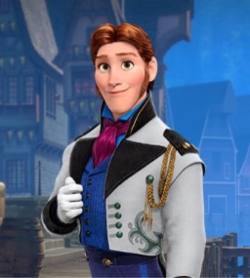 "Hans in ""Frozen"""