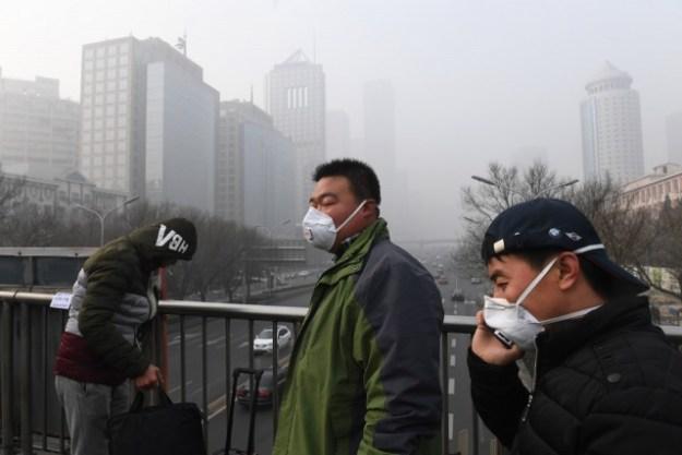 Photo of China's environment.