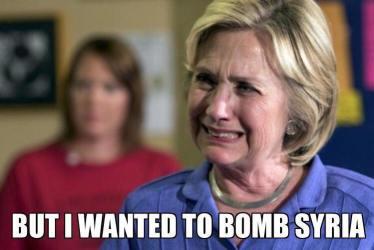 Hillary: I wanted to bomb Syria