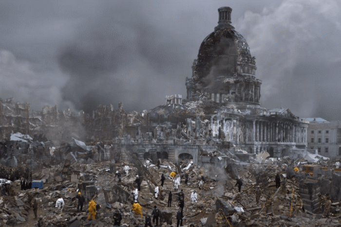 Designated Survivor: ruins of the Capitol