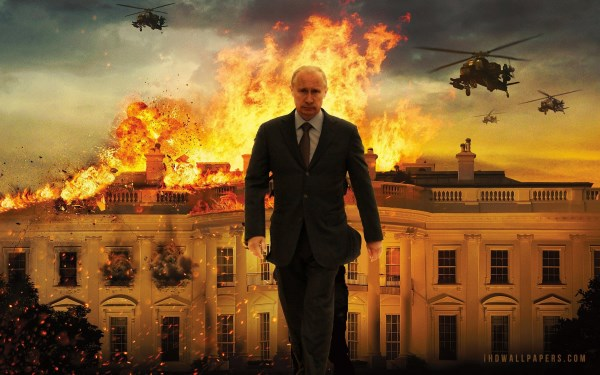 Putin and the burning White House