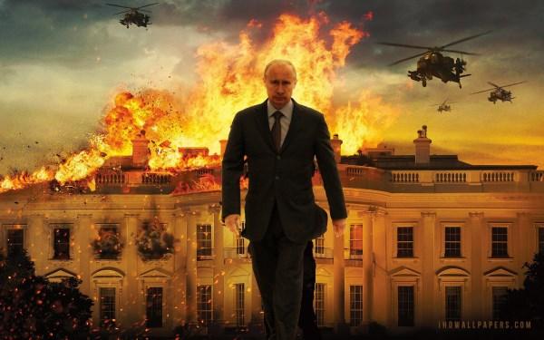 Putin and the burning White House