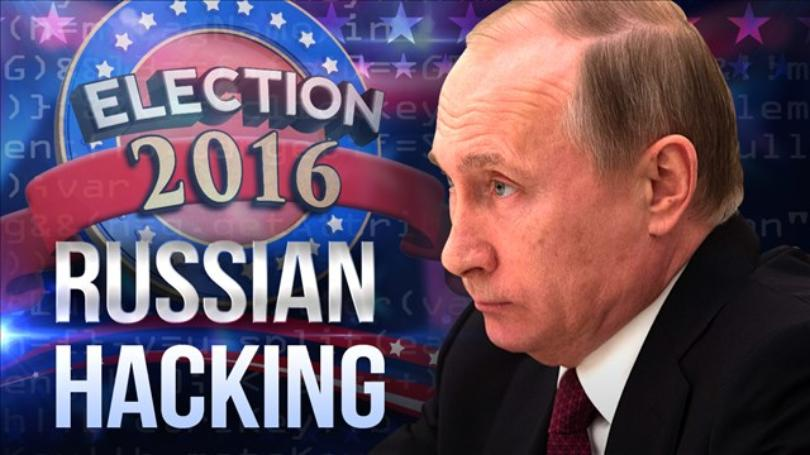 Russia hacking the US election
