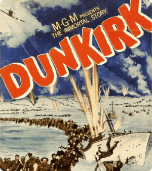 """Dunkirk"" poster (1958)"