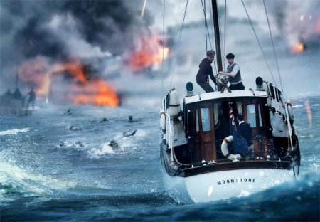 """Boat at sea in """"Dunkirk"""" (2017)"""