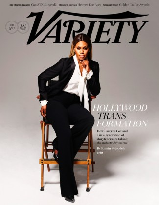 Transgender actress Laverne Cox in Variety