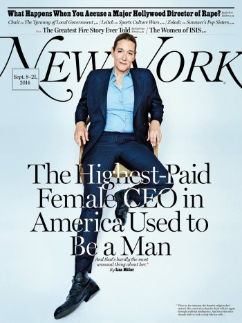 Transgender CEO Martine Rothblatt in New York