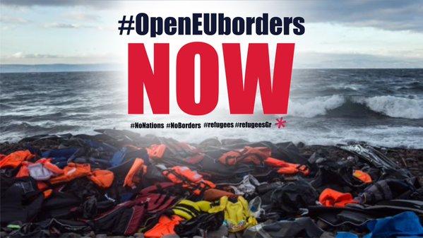 Open the EU's borders