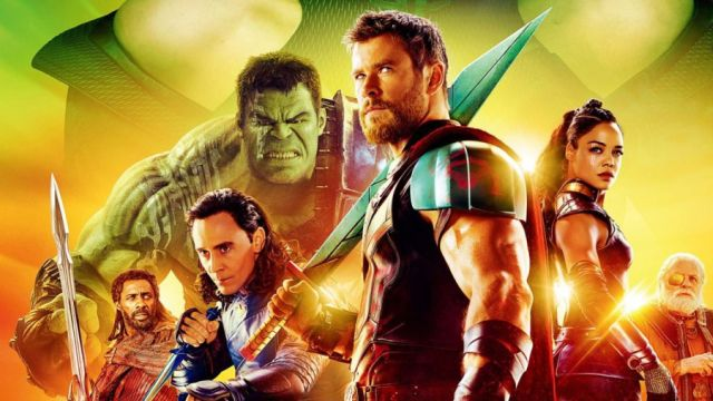 'Thor: Ragnarok' thunders to $56.6 million second weekend